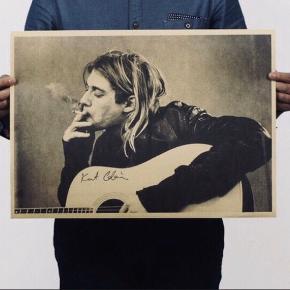 Kurt Cobain billede 😎  51 cm længde 35 cm brede