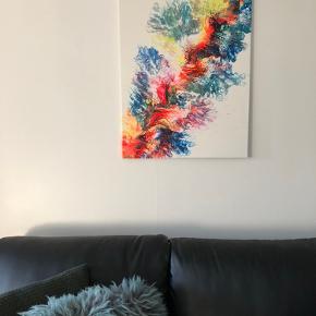 Nyt Akrylmaleri str. 60 X 80 cm.