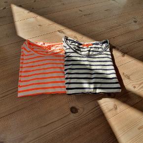 2 stribede t-shirts fra lollys. Super lækre i kvalitet. Gi et bud.