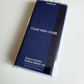 Helt nyt og ubrugt original flip cover til Samsung note 10 plus