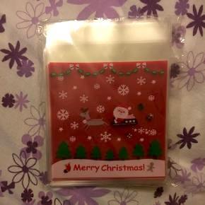 Sælger 49 stk. julesmåkage gaveindpakning. Sælges da det var et fejlkøb. De sidste billeder er 1 foldet. Måler 10x10 når papiret er fjernet og man klistrer den sammen og den dermed er forseglet