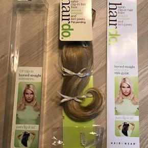 Salon clip-in hair