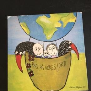 Pas på vores jord træ billede af marianne Højgaard  -fast pris -køb 4 annoncer og den billigste er gratis - kan afhentes på Mimersgade 111 - sender gerne hvis du betaler Porto - mødes ikke andre steder  - bytter ikke