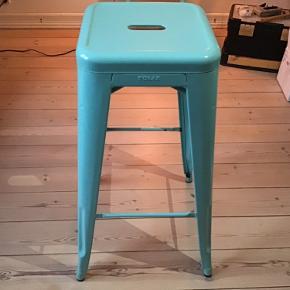 Fede Tolix barstole 2 stk. sælges samlet. Som nye. Skal hentes. Roskilde, Ballerup , Ølstykke eller Glostrup er muligt.