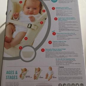Ergobaby babyindsats til bæresele. Ser ud som ny, brugt få gange. Kasse og instruktionsbog er med.