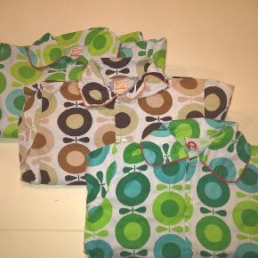 3 x pyjamas fra Katvig i str. 128  Den bagerste grønne + den bruge er gode men brugte - 150 pp pr stk  Den forreste er næsten som ny - **SOLGT**