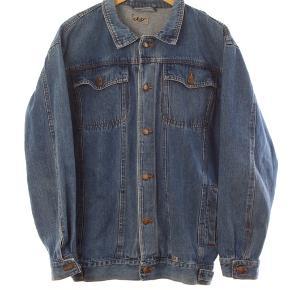 Denim jakke Str L Stand: næsten som ny 199 kr.