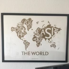 Kortkartellet World plakat - 50x70 Nypris: 399kr