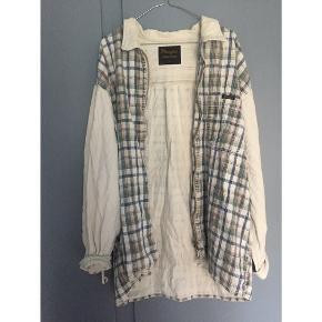 Vintage wrangler fløjlsskjorte med lynlåslukning foran.