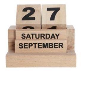 Kalender fra House Doctor. Kun stået fremme i meget kort tid.