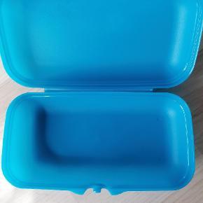 Babuska/ madkasse 1 blå 1 turkis Ubrugt Pris pr stk