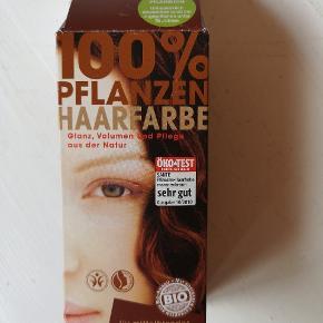 Sælger denne hårfarve da jeg har fundet på noget andet. Fra helse butik, kan bruges af alle.. Æsken kun åbnet.
