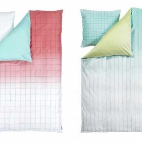 Hay Minimal sengetøj / sengesæt Ét sæt af hver model. 250 kr. pr. sæt☺ Alm. voksen str. 140×200/220  - Kun det højre sæt tilbage!😀