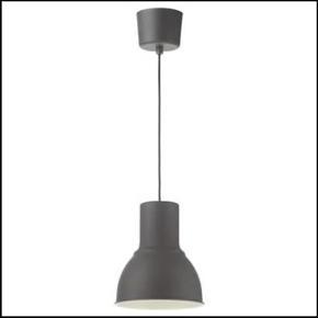 2 x HEKTARLoftlampe, mørkegrå, 22 cm  Fejler ingenting. Har hængt i et par år, så trænger bare til en god klud! 😉  Afhentes i Aalborg midtby.   (Elpære medfølger)   Sælges sol udgangspunkt kun samlet!
