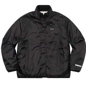 Supreme Colorblocked fleece jakke. DSWT