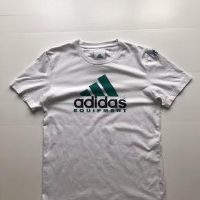 Vintage Adidas t-shirt  Hvid Str S