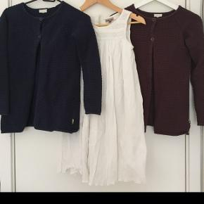 2 cardigans og kjole