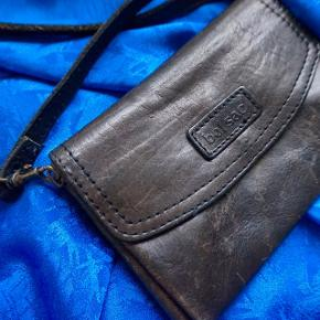 Lækker lædertaske 🍊