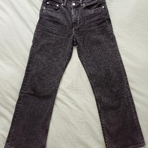 Arket cropped flared jeans, dark grey, size 26. Very good condition.  Waist: 72 cm Inner leg length: 66 cm