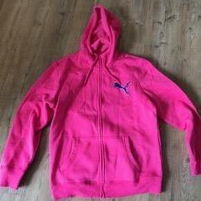 Varetype: hættetrøje Farve: Pink Oprindelig købspris: 499 kr.  Så lækker (ny) hættetrøje. Fra ikke ryger og dyrefrit hjem. Sender gerne, men på købers regning.