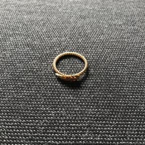 Ægte sølv - guldbelagt  Indgraveret BES 925 XS