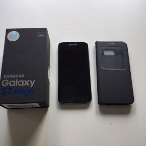 Samsung Galaxy 32 GB S7 edge Skærm ødelagt foran/bagpå Ellers fungere den fint  Ingen bud under. Ingen lader/høretlf medfølger