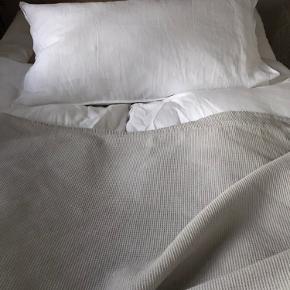 Fint sengetæppe, stort set ubrugt. Har primært ligget til pynt.   Måler 260 x 260 cm.   Køber betaler Porto.