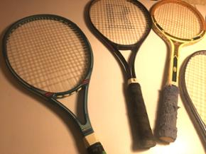 Tennis ketcher. Har mange forskellige slags. Head, Wilson, Challenge, Starlife, Snauwaert