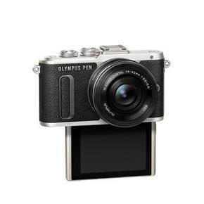 Olympus Pen EPL-8. Sort og sølv kamera. Som nyt, kun ét år gammelt. Med flipskærm, linse, kamerastrop, m.m. Æske og alt originalt tilbehør medfølger 📸 Se kameraspecifikationer på billedet ved at 👉🏻 swipe. Sælges da jeg netop har købt nyt spejlrefleks og det dermed ikke bruges.