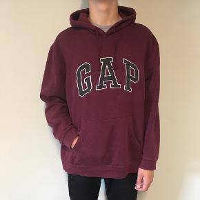 mega fed gap oversized hoodie, str xl så sidder oversized på mindre str. byd    tags y2k aesthetic grunge baggy brandy hoodie