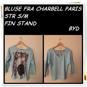 Bluse fra charbell Paris str s/m fin stand byd