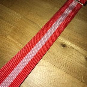 Taske strop fra Becksöndergaard i rød/hvid