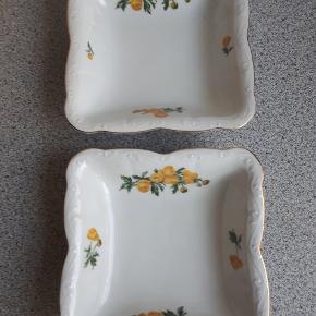 2 pæne skåle fra KPM Rubens.  Mønster Fritz Kraul.   Størrelse: 21 cm. Sælges samlet  Sendes ikke men kan afhentes på adressen