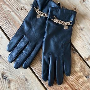 Ægte læder handsker - aldrig brugt 🌸