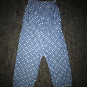 80 buksedragt heldragt blå hvide prikker  #30dayssellout