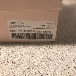 Sorte støvler 37,5 fra Just Fab. Aldrig brugt!