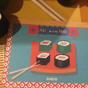 Helt nyt sushi sæt fra Djeco.