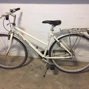"""KILDEMOES COLIBRI street bike damecykel 28"""" 7 Gear Med dobbel støttefod (hvis man skal have en cykelstol på) Pæn og velholdt  Registreringskort haves Skal afhentes."""