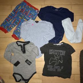 Joha Norlie  molo body bukser  strømpebukser bluse 80 tøjpakke tøjpakker   grå blå lyseblå mørkeblå
