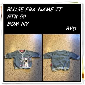 Bluse fra name it str 50 som ny byd