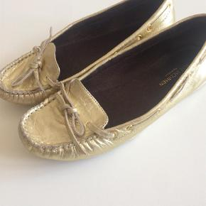 Loafers Farve: Guld