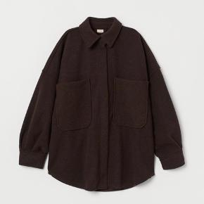 Lækker skjortejakke fra H&M 🤎 stadig med prismærke!