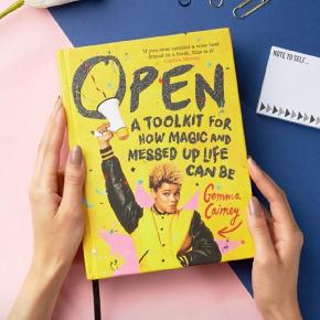"""Hardcover. New and impeccable.   Description: Open: A Toolkit for How Magic and Messed Up Life Can Beis full of honest advice about the big, bad and beautiful things that growing up is all about: from mental health to families to first love, and everything in between.  Gemma Cairney is an important advocate for young people and between her life experiences and her personal insight from her time as Radio 1's resident agony aunt onThe Surgery, she is perfectly placed to offer hope and a huge comforting cuddle to young people questioning what life's all about or dealing with hard times.  Along with practical help and advice from a range of experts and gorgeous illustrations, this bright and colourful book also has a ribbon marker and plenty of space for readers to personalize and make it their own, makingOpena treasured resource to return to whenever advice is needed.  Review  A chunky non-fiction splurge of glitter, anecdote and jubilation... a valuable resource, full of reassurance for teenagers that they are not alone, whatever they feel. (Guardian)  A guide to help young people navigate love, friendships, health and other aspects of growing up. (Observer)  Utterly invaluable, gloriously gracious guide to life 