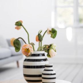 Omaggio vaser. 20 cm + 12,5 cm. Fejler intet. Nypris hhv 299,95 og 199,95. Sælges helst samlet :))