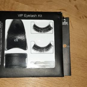 Aldrig brugt, kassen er en smule forslået af at have lagt i mit rod.  Intakt eyelash sæt.