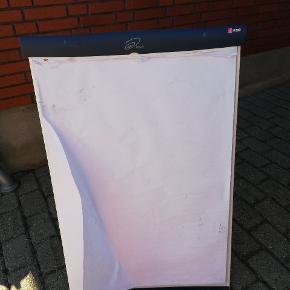 Flip øvet på ben inkl 3 x50 stk papir