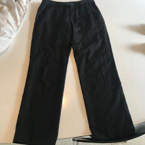 Jeff Banks Pinstripe bukser  Str 32/31  Cond: 8/10 almen brug