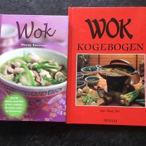 2 stk wok kogebøger.