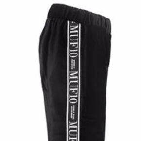 Muf10 velour tracksuit pants str L, Unisex