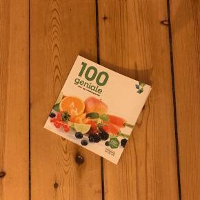 100 geniale juice- og smoothieopskrifter kogebog. Aldrig brugt 🌼